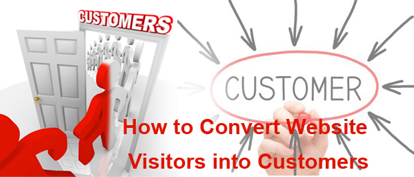 convert visitors to customers